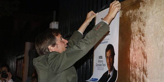 El PP de Boadilla renuncia a la colocación de publicidad electoral