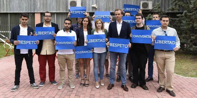 Terol defiende la libertad religiosa en la capilla de la Universidad Autónoma