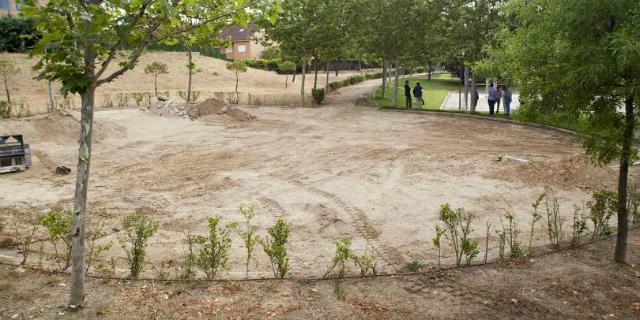 El parque Gutiérrez Soto se renueva