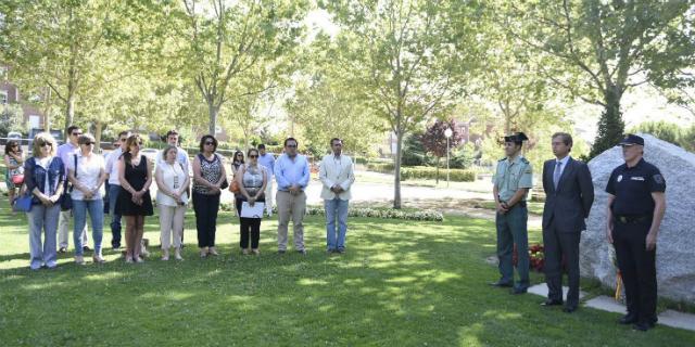 Homenaje a Miguel Ángel Blanco en el aniversario de su asesinato