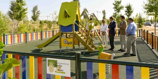 Boadilla estrena zona infantil en El Pastel