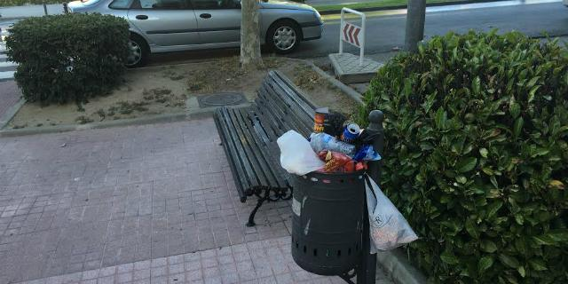 El PSOE pide limpiar y remodelar la calle Carretera de Majadahonda