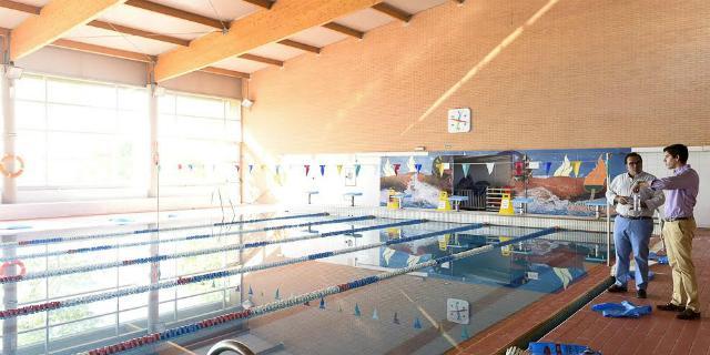 Mejoras en la piscina cubierta municipal