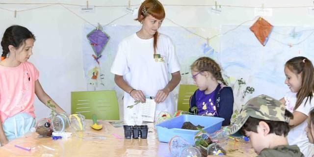 Éxito de participación en los campamentos de verano del Aula Medioambiental