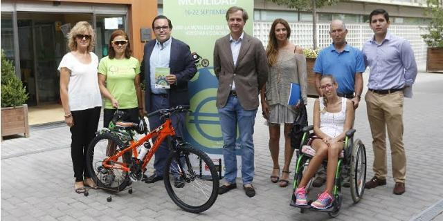 Transporte sostenible y concienciación durante la Semana Europea de la Movilidad