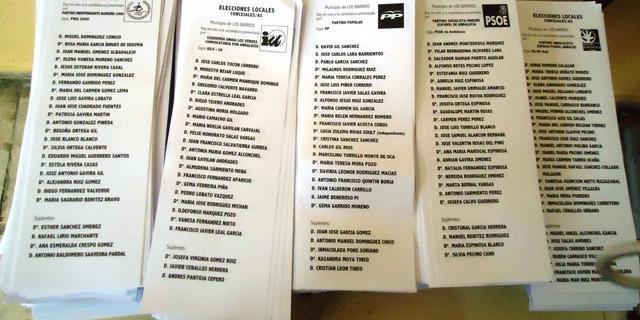 Ya se pueden consultar las listas del Censo Electoral hasta el 16 de mayo